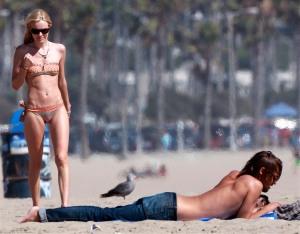 Kate Bosworth And James Rousseau Enjoy The Beach In Malibu
