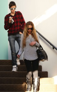 Lindsay Lohan and Samantha Ronson Leaving a Psychiatry Office