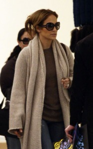 Jennifer Lopez Shopping At Barneys