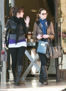 Michelle Trachtenberg Shopping At Barneys