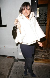 Lily Allen Arriving At Groucho Club (USA AND OZ ONLY)